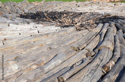 Fotografering  Tourbillon de bois