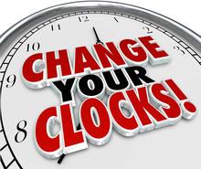 Change Your Clocks Set Hands F...