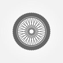 Motorcycle Wheel Logo