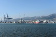 Cargo port in Novorossiysk