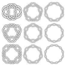 Set Of Magic Knotting Rings. N...