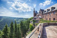 Mont Sainte-Odile Abbey In Als...