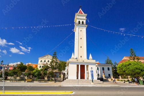 Fotomural City hall of Zante town on Zakynthos island, Greece