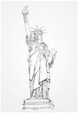 Fototapeta Nowy Jork - Statua Wolności