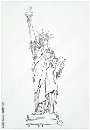 Fototapeta Statua Wolności obraz