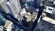 Les toits de Sydney depuis la Sydney Tower, Australie