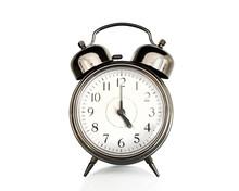 Five On An Old Vintage Alarm C...
