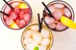 Healthy organic drinks