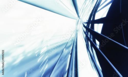 fototapeta na lodówkę Abstract technology background