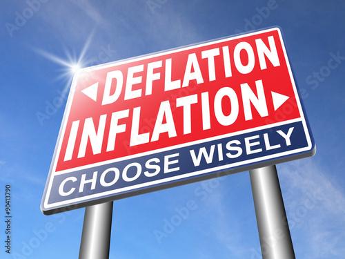 Photo  inflation deflation