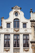 Traditional belgian architecture in Brussels