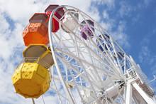 Ferris Wheel En Barselona, Tibidabu.