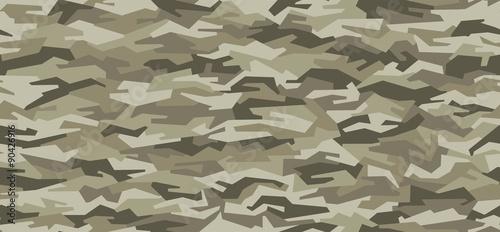 Fotografía  camouflage pattern -  seamless - woodland