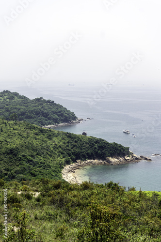 香港ラマ島の海岸線 Poster