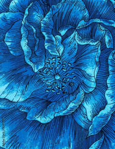 Print flower fabric - 90451190