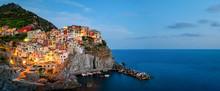 Manarola, Cinque Terre (Italia...