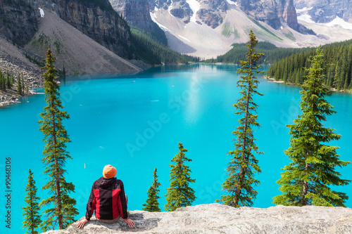 Poster Turquoise Moraine lake