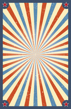 Vintage Circus Background For A Poster