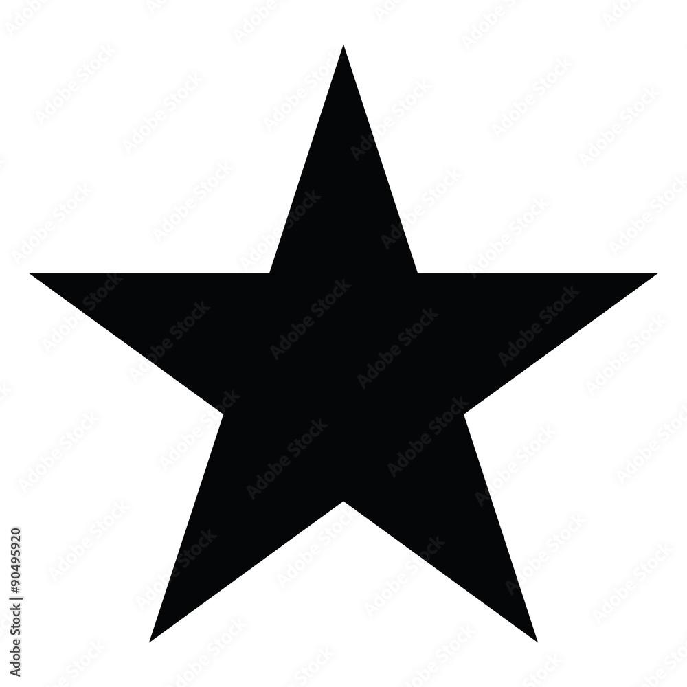 Fototapety, obrazy: Star silhouette