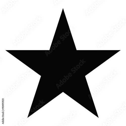 Star silhouette - 90495920
