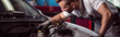 Repairing car engine