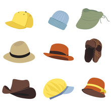 Vector Collection Hats