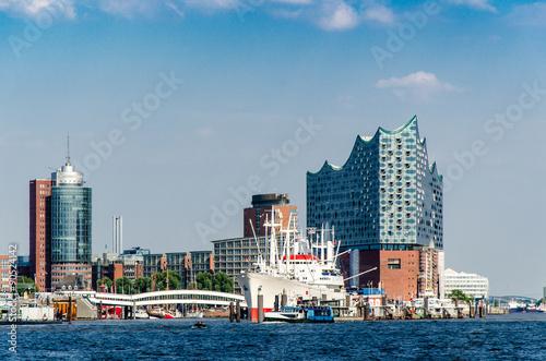Fotografía  Gebäude am Hamburger Hafen