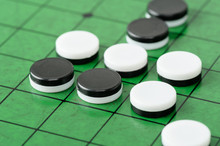Discs On Reversi Board