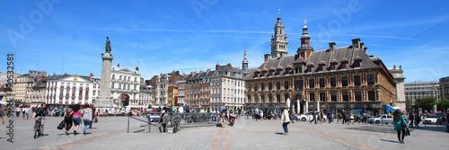 Lille (France) / Place du Général de Gaulle Canvas-taulu