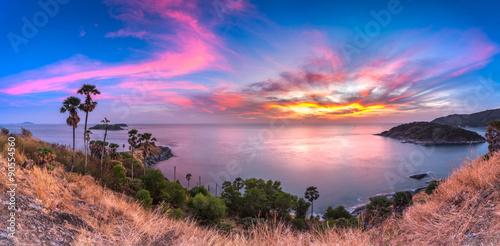 Fotografie, Obraz  Promthep Cape - Nejlepší pohled Phuket bod, Thailand