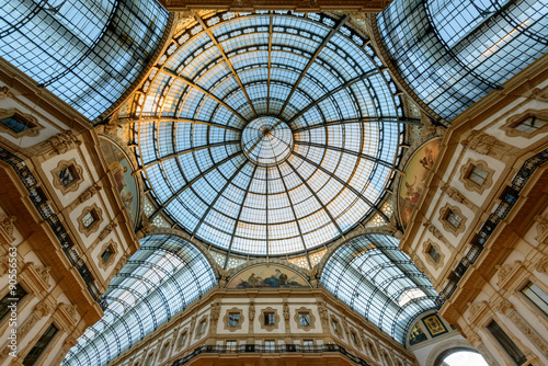 Foto op Canvas Milan Milano Galleria Vittorio Emanuele II