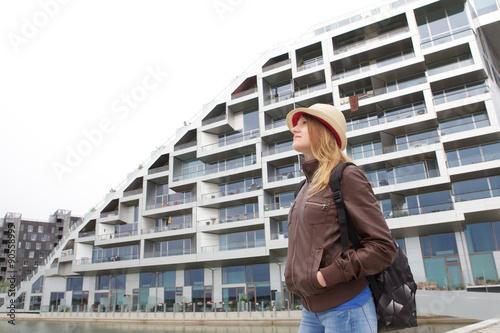 Photo  tourist in Copenaghen