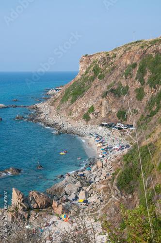 Fotografie, Obraz  Zambrone, a small town near the sea in Calabria