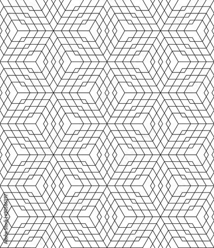 Vector Modern Seamless Pattern Grid