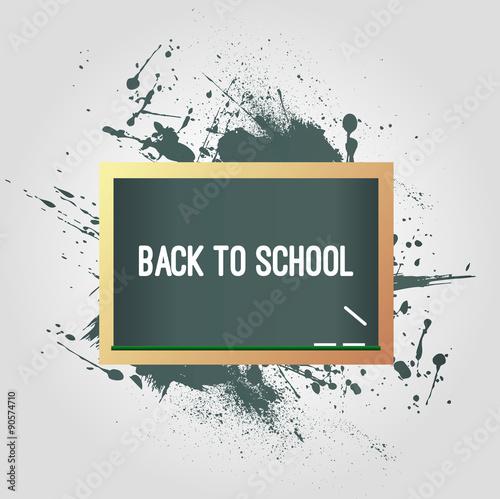 Fototapety, obrazy: Back to school background