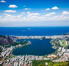 View Of The Ipanema , Lagoa An...