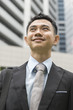 portrait of asian young business man