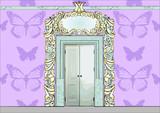 Bajkowe drzwi pałacowe