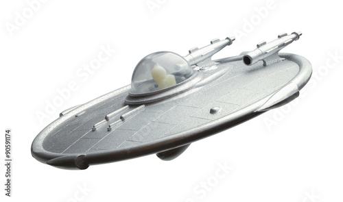 Aluminium Prints UFO UFO Flying Saucer