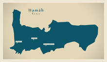 Modern Map - Hamah SY