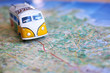 canvas print picture - Travel on the road
