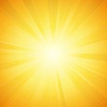 Shiny Sun Vector