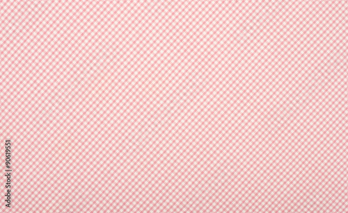 Photo  Close up on checkered tablecloth fabric