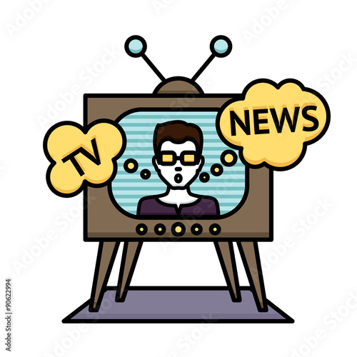 Photo  Tv News Poster