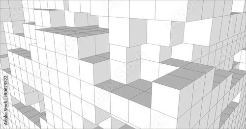 Valokuva  3d bloczki r1