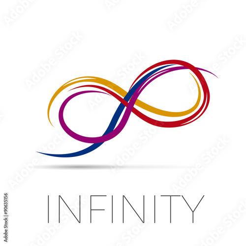 Fotografia  Vector sign infinity