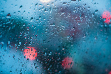 Rain Drops Bokeh