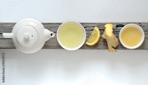 Canvas Prints Tea Ginger lemon tea