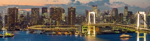 Poster Tokyo Tokyo Tower Rainbow Bridge