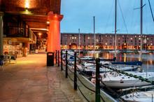 Albert Docks, Liverpool, UK